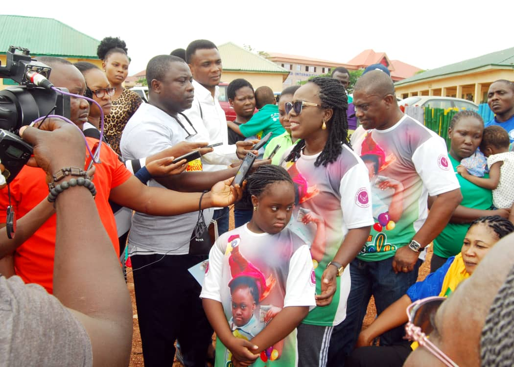 Cerebral Palsy Day: When Engraced Ones march on Abuja to sensitise residents