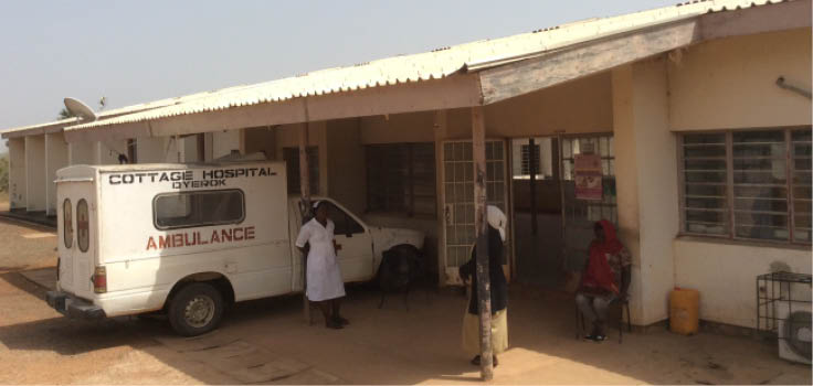 Sorry state of Cottage hospital Dyerok, abandoned by Plateau government