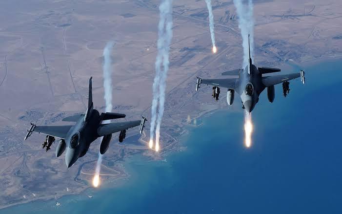 Military air strike kills several BHT in Borno