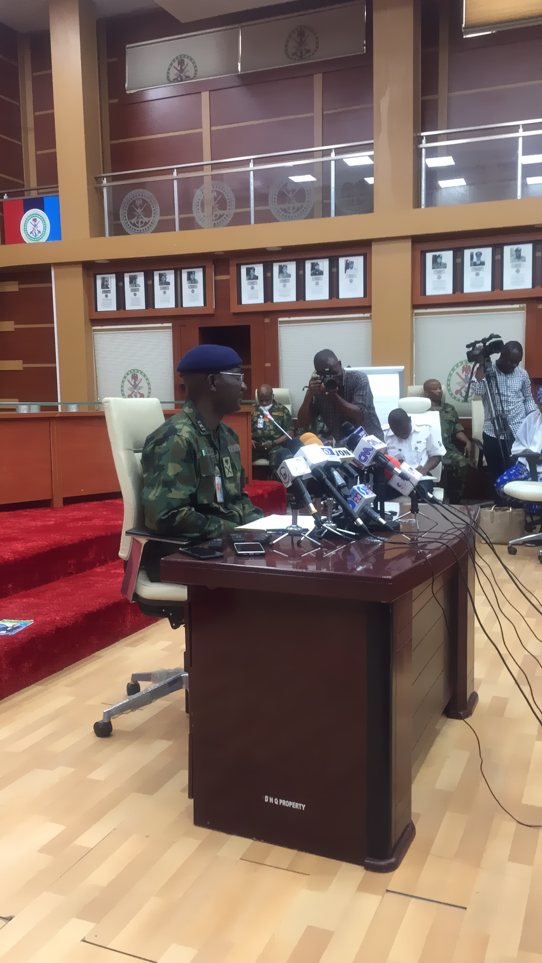 We're determine to stamp out terrorism, banditry, others - Military