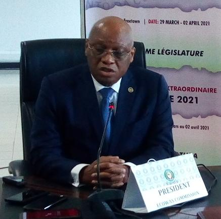 ECOWAS Parliament appeals to Sierra Leone President to lead campaign on direct election