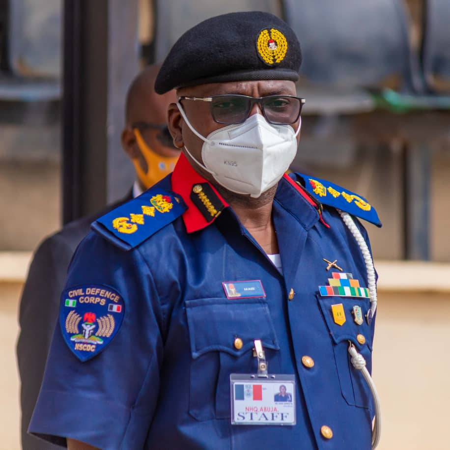 I will drive Civil Defence to be a world class service- NSCDC boss, Audi