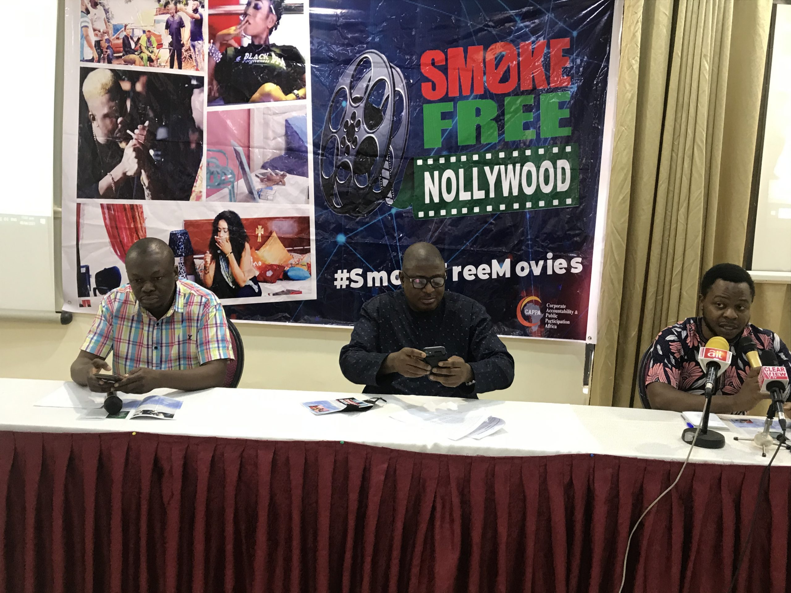CAPPA partners Kannywood, advocates ban of smoking in movies