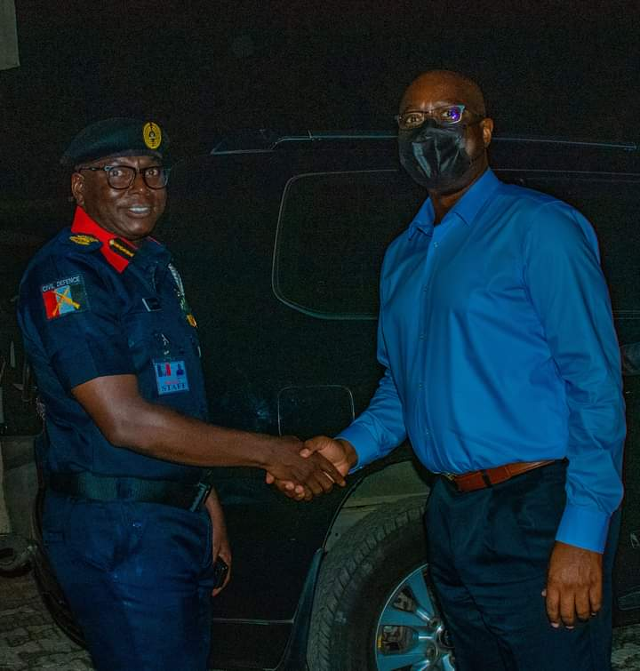 Insecurity: Oyo Gov.  pledges support strategic support for NSCDC