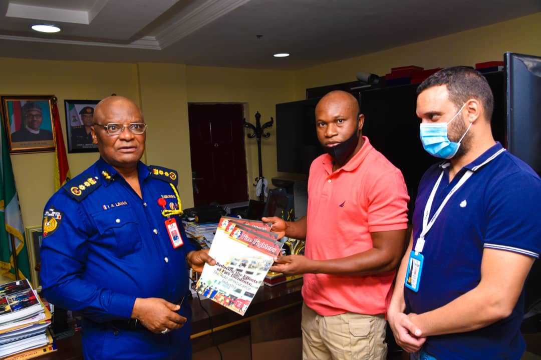 Liberian Fire  Service Chief seeks collaboration with FFS