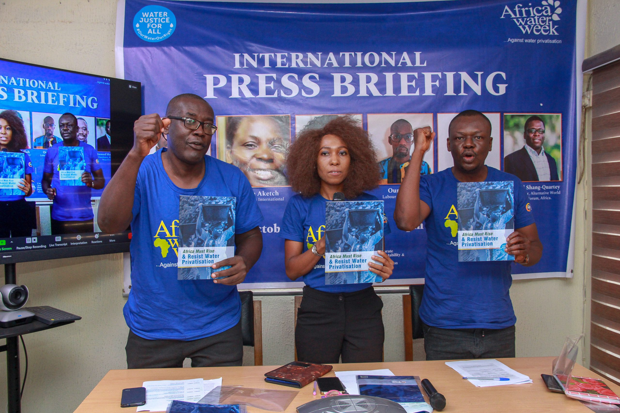 CSOs urges African governments to reject water privatisation